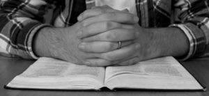 prayering-over-bible